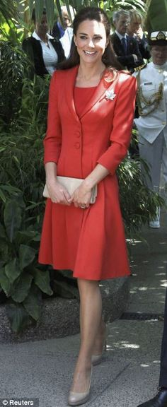 Catherine, Duchess of Cambridge attends a reception at Calgary Zoo