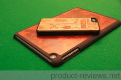 Taking a close look at the Carved iPhone 5 and iPad mini case.