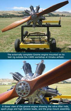 Gnome engine mounted
