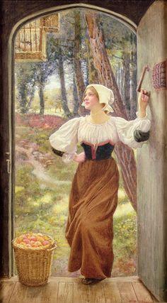 Tithe in Kind, Edward Robert Hughes