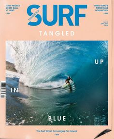 Craig Anderson | May 2013 Cover | TransWorld SURF in Art/Designs