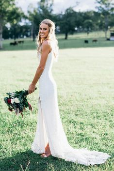Terri wears the Grace Loves Lace Lottie gown.