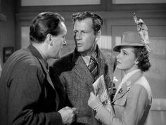 "George Sanders Joel McCrea and Laraine Day . ""Foreign Correspondent"" (Hitchcock, 1940)"
