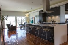 1127 Residence - modern - kitchen - kansas city - Studiobuild