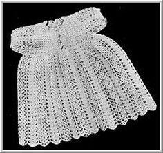 Crochet Pattern Central Dresses : Crochet Pattern Central - Free Baby Dresses And Gowns Crochet