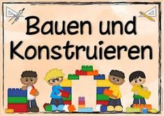 """Ideenreise: Themenplakat """"Bauen und Konstruieren"""""""