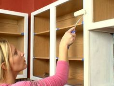 Watch How to Paint Kitchen Cabinets from DIY