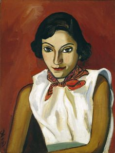 Mady by ALice Neel.