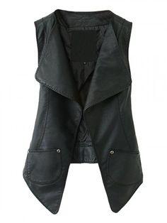 Veste cuir noir mim