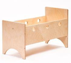ADO houten poppenbed