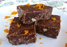 Pure and Simple Nourishment : Paleo Dark Chocolate Orange Fudge (Paleo, Dessert)
