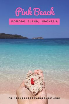 Click to see why this beach is a must-see!  Pink Beach | Komodo Island | Komodo National Park | East Nusa Tenggara | Indonesia
