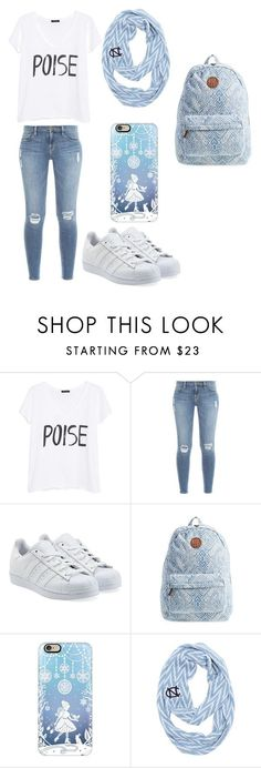 """Quick Outfit"" by beautynezz-dlxix ❤ liked on Polyvore featuring MANGO, Frame Denim, adidas Originals, Billabong and Casetify"