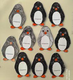 Μικρό Νηπιαγωγείο - Νηπιαγωγείο Μικρόπολης Ν. Δράμας: Η ΖΩΗ ΣΤΟΥΣ ΠΑΓΟΥΣ ( Οι πιγκουίνοι) Blog, Blogging