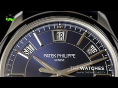 Patek Philippe Goes Pilot And Urban At Baselworld 2015 - YouTube