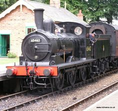 65462 at Holt - Locomotive Diesel, Steam Locomotive, Train Info, Old Steam Train, Norwich Norfolk, Steam Railway, Hobby Trains, Train Art, British Rail