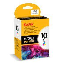 Kodak Genuine 10C Ink Cartridge - Coloured (420 Pages)