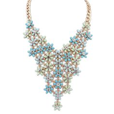 Beautiful Fresh Flower Necklace For Women[US$17.10]shop at www.favorwe.com