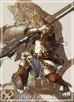 Mercenary of Leopard by ~koutanagamori on deviantART