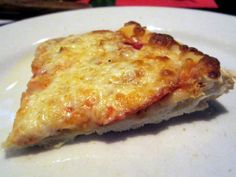 When is a thin-crust like a crispy Italian breadstick? At Gino's East! Shoulda piled on the toppings. It'll take it!