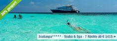 Deal der Woche:  30% sparen & die #Malediven auf einem Luxus-Kreuzfahrtschiff erleben! #scubaspa #fitreisen #deals
