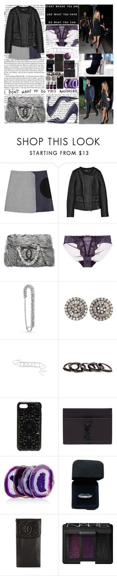 """""""Jump in the Pegasus All kinda reckless the necklace All kinda reckless I flexed it K-keep the change, yeah you heard me correctly If she sleek and foreign, call her Lexus Every week a foreign, I just check her wishlist Only thing I'm here for is perplexin"""" by labelsoflove ❤ liked on Polyvore featuring dVb Victoria Beckham, DKNY, Chanel, COS, Dita Von Teese, Bling Jewelry, Mary Louise Designs, Free Press, Felony Case and Yves Saint Laurent"""