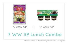 Weight Watcher Lunch Combo 32 - Meal Planning Mommies