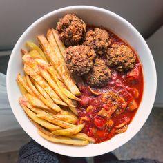 Veggie Beanballs (low-fat!)