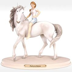 Enesco Horse Whispers Poetry in Motion Figurine, 7-Inch Enesco Gift