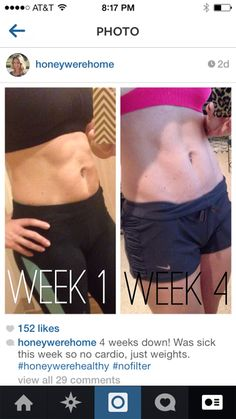 Get Lean Recap (Week 4) with Meal Plan. Her plan is perfect for me. Time to get back on it
