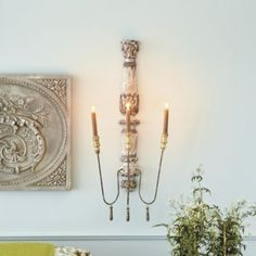 Valletta Candle Sconce