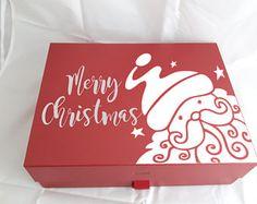 Xmas Ideas, Gift Ideas, Xmas Eve Boxes, Personalised Christmas Eve Box, Fairy Gifts, Party Kit, Etsy Uk, Gift Boxes, Laser Cutting