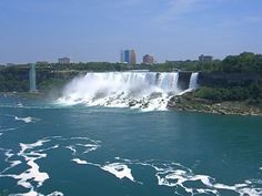 The American Falls at Niagra - not as lovely as the Canadian Falls, but still quite lovely
