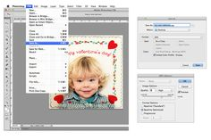 Photoshop Tutorial by Erin Lizardo for The Graphics Fairy. Make an Easy Valentine Photo Collage!