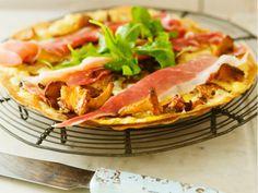 Kantarellpizza med västerbottensost (kock Le Parfait)