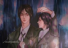 Attack On Titan Comic, Attack On Titan Fanart, Attack On Titan Ships, Anime Girlxgirl, Anime Couples Manga, Fanarts Anime, Mikasa X Eren, Anime Akatsuki, Fire Emblem Characters