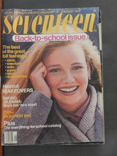 Remember the 70's...Seventeen magazine's fall fashion issue..back when it was an inch thick and oversized?!!