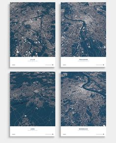 UEFA Euro 2016 - City Maps on Behance