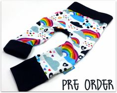 Emo Rainbows Bella Bum Pants