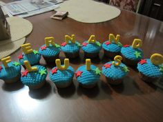 Fondant Cupcakes / Creaciones Reina Sofia Ciudad Ojeda Zulia Venezuela