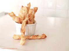 Arabafelice in cucina!: Treccine di sfoglia al formaggio speziato