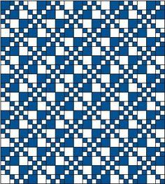 Double Four Patch Quilt Block Pattern: Yardages for Additional Double Four Patch Quilt Blocks
