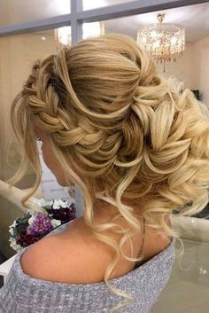 A Little Bit Messy Prom Hair Updos 1