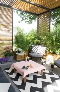 Terrasse Lounge You are in the right place about Planting Ideas india Here we offer you the most beautiful pictures about the cool Planting Ideas you are looking for. When you examine the Terrasse Lou Outdoor Decor, Diy Pergola, Rustic Houses Exterior, Terrace Design, House Exterior, Patio Design, Exterior Design, House Designs Exterior, Lounge Furniture