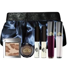 "Set Make up ""Homecoming""  Inhalt: Lip Gloss ""transparent"", Special Mono Eyeshadow ""brazilian coffee"" , Eyeliner ""blossom glaze"", Lip Gloss ""berry punch"", 2in1 Eyeshadow & Lipgloss ""satin sparkles"", BB Powder ""matchmaker"""