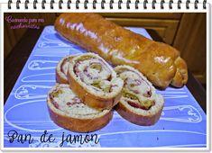 Este pan venezolano de jamón es perfecto para merendar  #panarras #pancasero #pandejamón http://blgs.co/YOc8kA