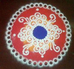 Simple sanskar bharti rangoli designs for home