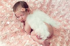 DIY newborn angel wings