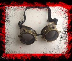 Wholesale Steampunk - Buy Steampunk Brass Goggles Rock Moto/bike Punk Cyber Steel Gothic Rave Vintage Cosplay Accessories Vintage Single Eye...