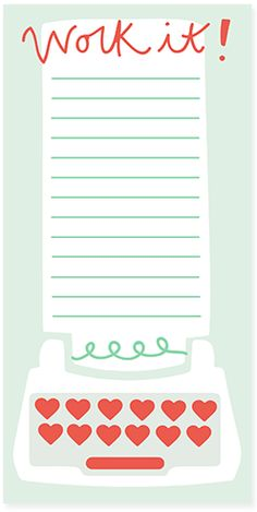 Work it! Notepad